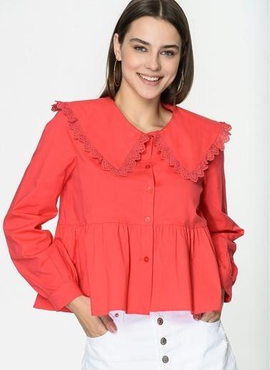 Loves You Gömlek Kırmızı